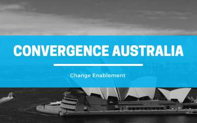 Change Enablement Coming to Convergence Australia