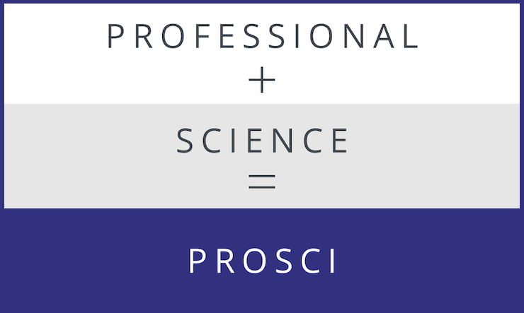 Professional + Science = Prosci